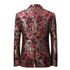 Claret Flower Printed Suit - Artistic Pod Review