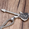 Electric Guitar Pendant Necklace