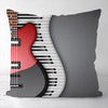 Piano Guitar Pillowcase