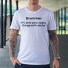 Drummer Definition T-shirt - Artistic Pod Review