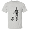 Man with Guitar Sketch Ultra Cotton T-Shirt