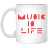 Bauhaus Music Is Life Ultra Cotton Mug