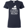 A House Is Not a Home Without a Piano T-shirt - Artistic Pod Review