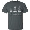 Musical Notes Food Code T-shirt