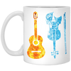 Music Instrument( Fire and Ice ) Mug