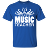 Music Note Teacher T-shirt