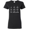 Multiple Musical Notes Unicode Character T-shirt