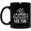 A House Is Not a Home Without a Music Mug - Artistic Pod Review