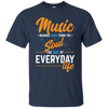 Music Washes Away From The Sound T-shirt