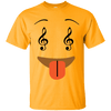 Smile Face Music Notes Emoji Ultra Cotton T-Shirt