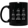 Multiple Musical Notes Mug