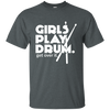 Girls Play Drum T-shirt