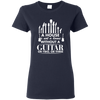 A house Is Not a Home Without a Guitar T-shirt - Artistic Pod Review