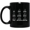 Multiple Musical Notes Unicode Character Mug