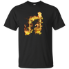 Fire Two Eighth Note T-shirt - Artistic Pod Review