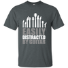 Easily Distracted by Guitar T-shirt - Artistic Pod Review
