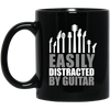 Easily Distracted By Guitar Mug - Artistic Pod Review