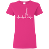 Guitar Heart Beat T-shirt