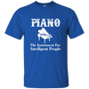 Piano The instrument for intelligent people T-shirt