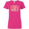 Music Can Change The World T-shirt