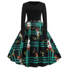Christmas Music Note Dress