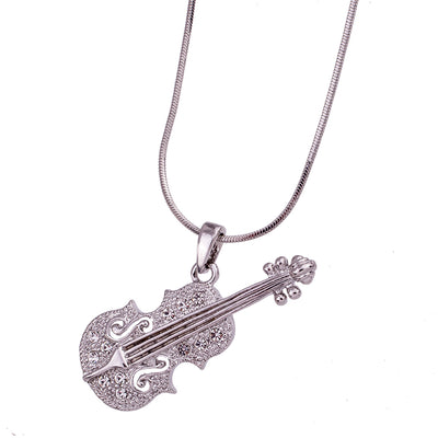 Free - Crystal Violin Necklace - Artistic Pod Review