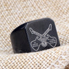 Black Guitar Men Ring - Artistic Pod Review