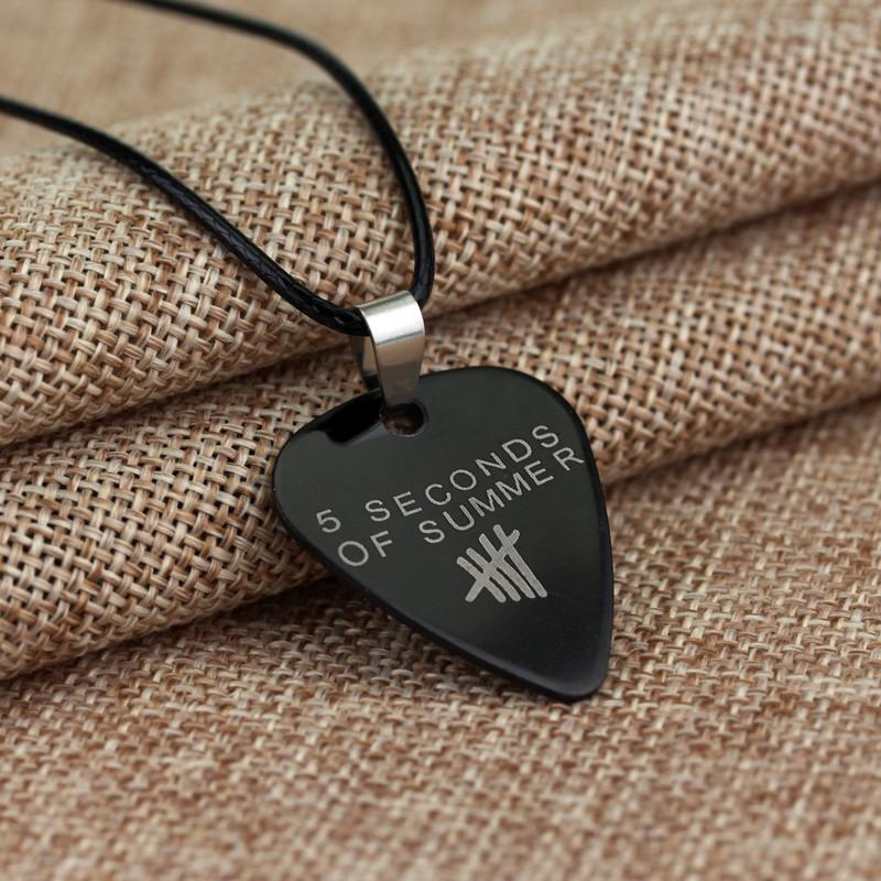 5 second of summer music guitar pick necklace artistic pod 5 second of summer music guitar pick necklace artistic pod review aloadofball Choice Image