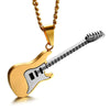 Enamel Guitar Necklace - Artistic Pod Review