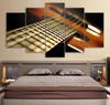 5 Pieces Classic Guitar Canvas Art - Artistic Pod Review