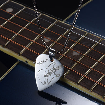 Free - Guitar Pick Pendant Necklace - Artistic Pod Review