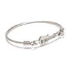 Stainless Steel Guitar Bangle