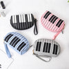 Piano Keys Mini Makeup Bag