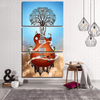 3 Pieces Fantasy Guitar Canvas Art - Artistic Pod Review