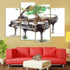 4 Pieces Nature Piano Canvas Art - Artistic Pod Review