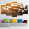 5 Pieces Classical Guitar Canvas Art - Artistic Pod Review