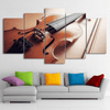 5 Pieces Classical Violin Canvas Art - Artistic Pod Review