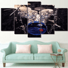 5 Pieces Cool Metal Drum Canvas Art - Artistic Pod Review