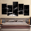 5 Pieces Dark Drum Canvas Art - Artistic Pod Review