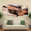 5 Pieces Violin Canvas Art - Artistic Pod Review