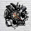 Life Is Music Wall Clock