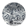 Music Note Gift Wrap Tulle