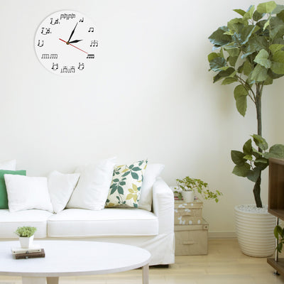 Drum Notes Wall Clock - Artistic Pod Review