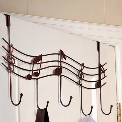 Music Notes Wall Hook Hangers - Artistic Pod Review