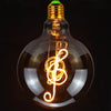 Vintage Music And Guitar Led Bulb