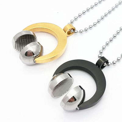 Sport headset music carnival pendants necklaces artistic pod sport headset music carnival pendants necklaces aloadofball Choice Image