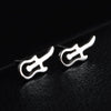 Music Guitar Earrings