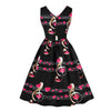 Music Notes Hearts Dress