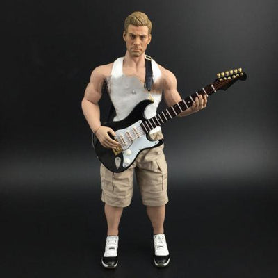 Mini Musical electric guitar  Figure - Artistic Pod Review