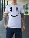 Smile Head Phone Ultra Cotton T-Shirt